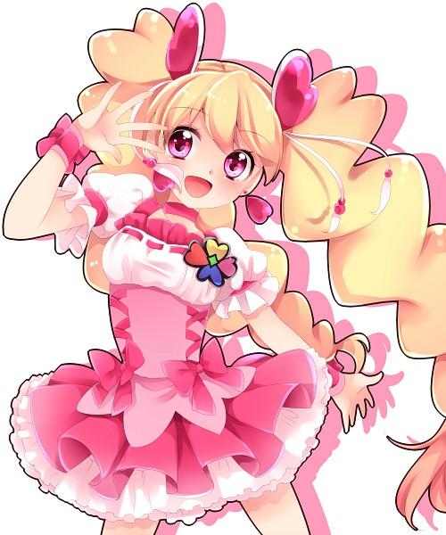 Tags: Anime, Uduki Shi, Fresh Precure!, Cure Peach, Momozono Love, Fanart, Pixiv, Fanart From Pixiv