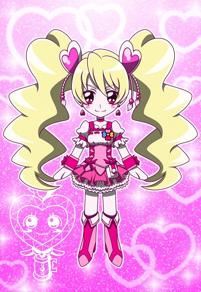 Tags: Anime, MT2Y-Monyo, Fresh Precure!, Momozono Love, Pirun, Cure Peach, Pixiv, Fanart From Pixiv, Fanart