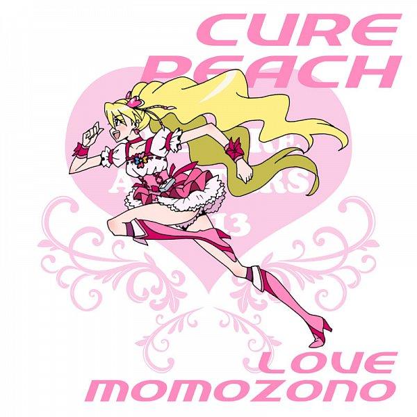 Tags: Anime, Eunos, Fresh Precure!, Cure Peach, Momozono Love, Pixiv, Fanart From Pixiv, Fanart
