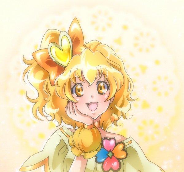 Tags: Anime, Shunciwi, Fresh Precure!, Cure Pine, Yamabuki Inori, Fanart From Pixiv, Fanart, Pixiv