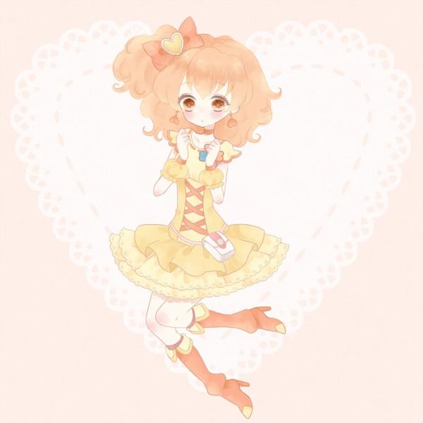 Tags: Anime, Pixiv Id 178944, Fresh Precure!, Yamabuki Inori, Cure Pine, Pixiv, Fanart From Pixiv, Fanart