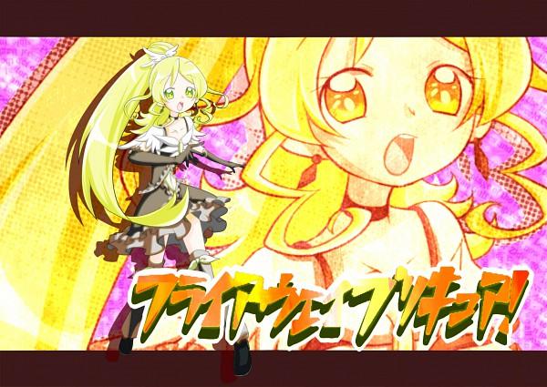 Tags: Anime, Imahia, Pretty Cure Fan Series, Flyaway Precure, Uwada Shizuka, Cure Planet, Pixiv, Fanart, Fanart From Pixiv