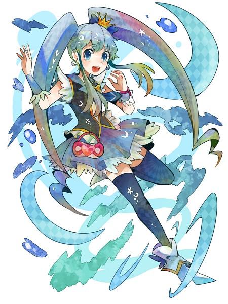 Tags: Anime, Ringetsumon, HappinessCharge Precure!, Shirayuki Hime, Cure Princess, Nico Nico Douga, Fanart