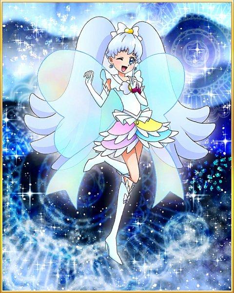 Tags: Anime, HappinessCharge Precure!, Precure Tsunagaru Puzzlun, Cure Princess, Shirayuki Hime, ^.~