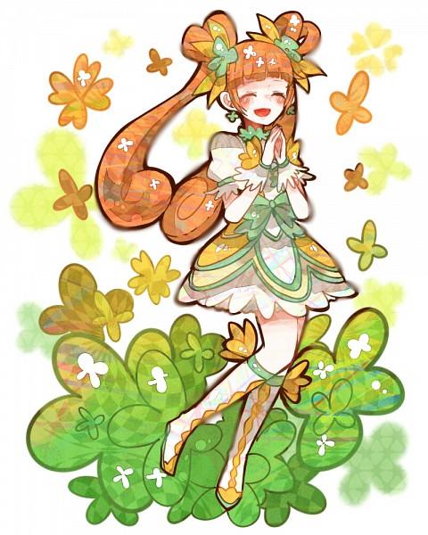 Tags: Anime, Ringetsumon, Dokidoki! Precure, Yotsuba Alice, Cure Rosetta, Clubs (Card), Fanart From Pixiv, Pixiv, Fanart