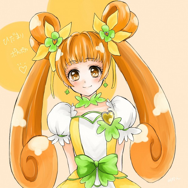 Tags: Anime, Pixiv Id 4996595, Dokidoki! Precure, Yotsuba Alice, Cure Rosetta, Fanart From Pixiv, Pixiv, Fanart