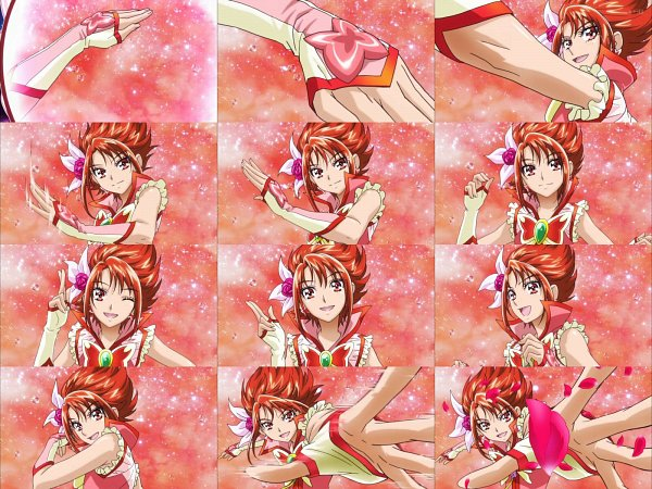 Tags: Anime, Yes! Precure 5, Cure Rouge, Natsuki Rin, Wallpaper
