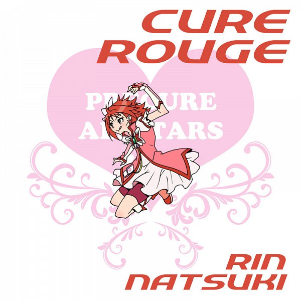 Tags: Anime, Eunos, Yes! Precure 5, Natsuki Rin, Cure Rouge, Fanart, Pixiv, Fanart From Pixiv