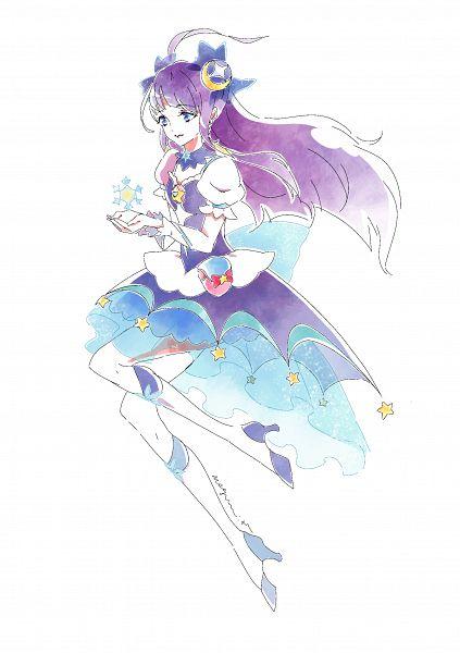 Tags: Anime, Pixiv Id 31449680, Star☆Twinkle Precure, Kaguya Madoka, Cure Selene, Fanart, Fanart From Pixiv, Pixiv