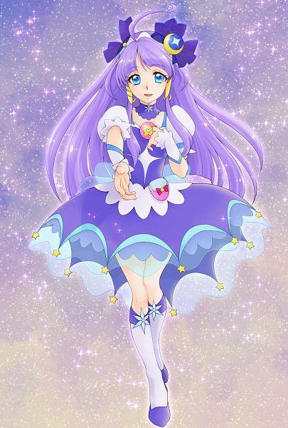 Tags: Anime, Pixiv Id 10336702, Star☆Twinkle Precure, Cure Selene, Kaguya Madoka, Pixiv, Fanart, Fanart From Pixiv