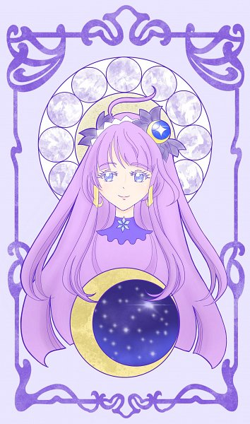 Tags: Anime, Mimicoro, Star☆Twinkle Precure, Kaguya Madoka, Cure Selene, Fanart, Twitter