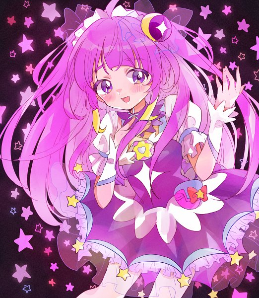 Tags: Anime, Pixiv Id 4682785, Star☆Twinkle Precure, Cure Selene, Kaguya Madoka, Fanart, Fanart From Pixiv, Pixiv