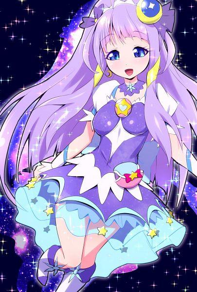 Tags: Anime, Iruka-margarine, Star☆Twinkle Precure, Kaguya Madoka, Cure Selene, Fanart From Pixiv, Pixiv, Fanart