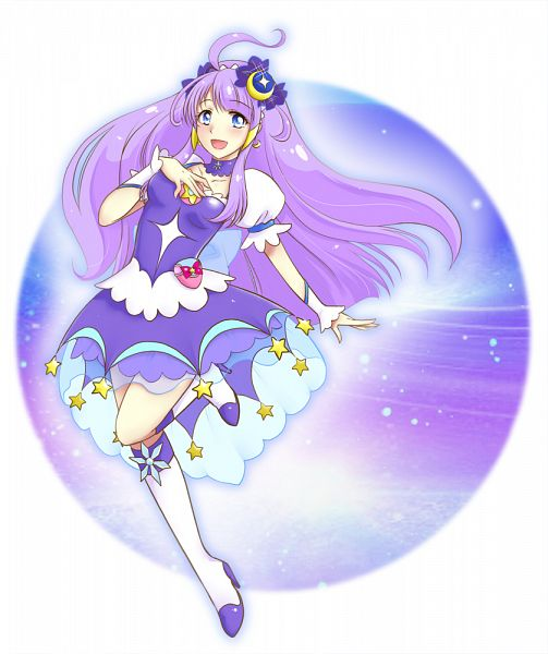 Tags: Anime, Pixiv Id 272135, Star☆Twinkle Precure, Kaguya Madoka, Cure Selene, Pixiv, Fanart, Fanart From Pixiv