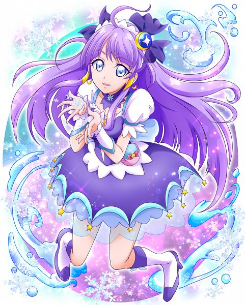 Tags: Anime, Pixiv Id 1059771, Star☆Twinkle Precure, Kaguya Madoka, Cure Selene, Fanart From Pixiv, Pixiv, Fanart