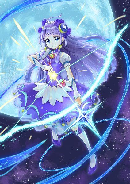 Tags: Anime, Pixiv Id 23816107, Star☆Twinkle Precure, Kaguya Madoka, Cure Selene, Pixiv, Fanart, Fanart From Pixiv