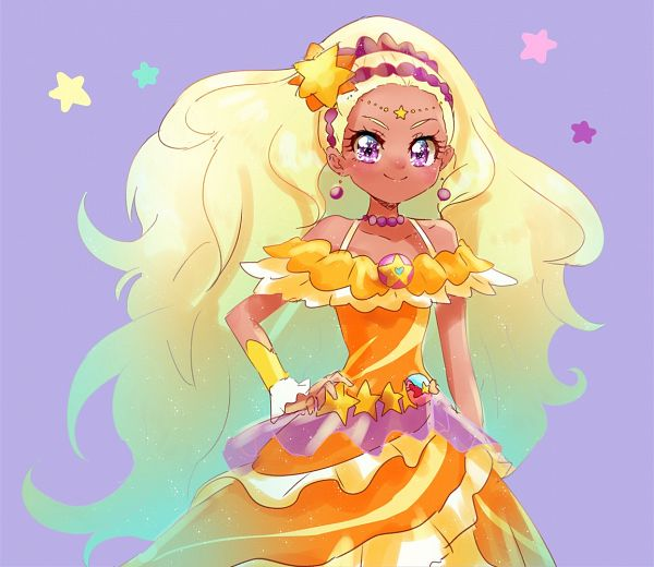 Tags: Anime, Pixiv Id 1706251, Star☆Twinkle Precure, Amamiya Erena, Cure Soleil, Fanart From Pixiv, Pixiv, Fanart, Twitter