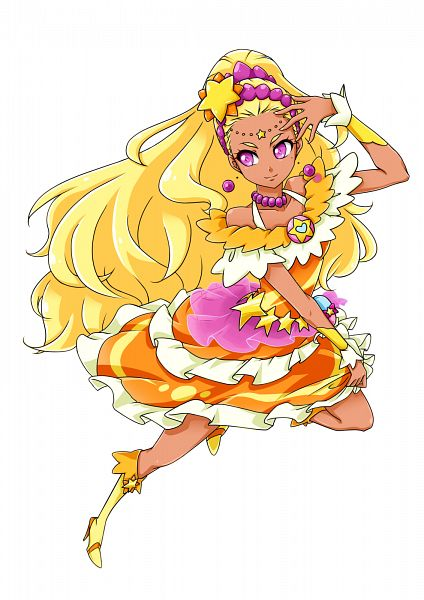 Tags: Anime, Pixiv Id 1805676, Star☆Twinkle Precure, Amamiya Erena, Cure Soleil, Fanart From Pixiv, Pixiv, Fanart
