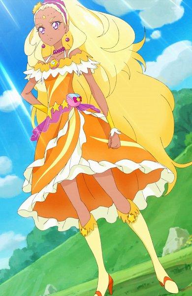 Tags: Anime, Toei Animation, Star☆Twinkle Precure, Amamiya Erena, Cure Soleil, 370x222, Stitched Screenshot, Screenshot