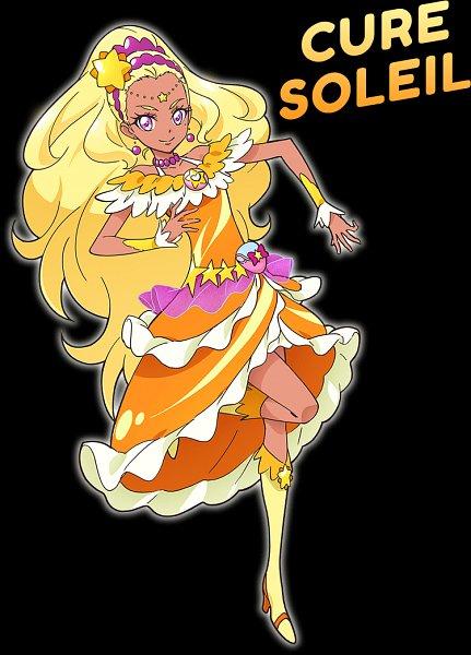 Tags: Anime, Takahashi Akira, Toei Animation, Star☆Twinkle Precure, Amamiya Erena, Cure Soleil, Official Art