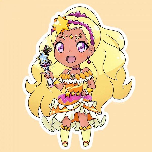 Tags: Anime, Levijaeger1, Star☆Twinkle Precure, Amamiya Erena, Cure Soleil