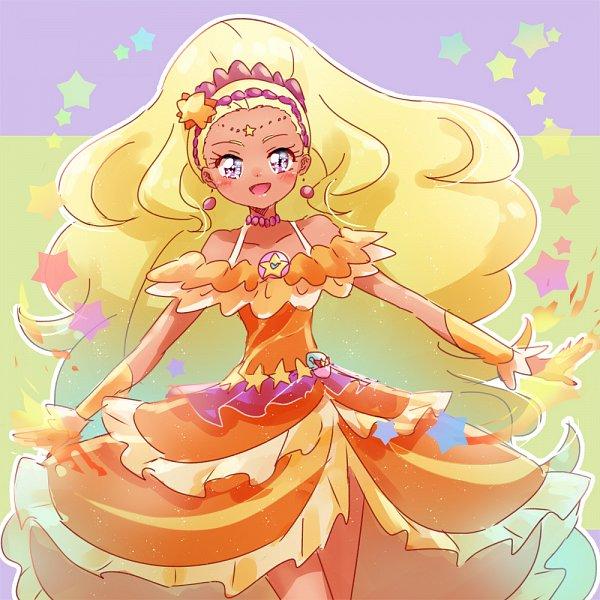 Tags: Anime, Pixiv Id 1706251, Star☆Twinkle Precure, Cure Soleil, Amamiya Erena, Fanart From Pixiv, Pixiv, Fanart, Twitter