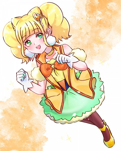 Tags: Anime, Pixiv Id 2395251, Healin'Good♥Precure, Hiramitsu Hinata, Cure Sparkle, Wallpaper, Pixiv