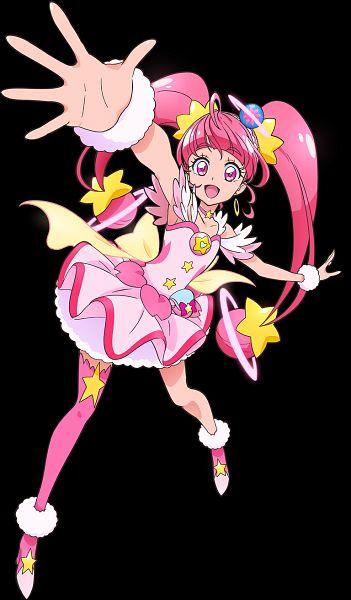 Tags: Anime, Toei Animation, Star☆Twinkle Precure, Hoshina Hikaru, Cure Star, Key Visual, Official Art