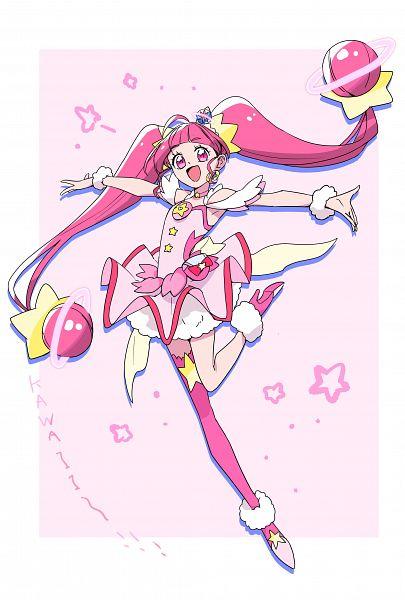 Tags: Anime, Pixiv Id 3241299, Star☆Twinkle Precure, Cure Star, Hoshina Hikaru, Fanart