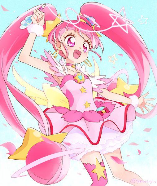 Tags: Anime, Yui 61, Star☆Twinkle Precure, Hoshina Hikaru, Cure Star, Fanart From Pixiv, Pixiv, Fanart, Twitter