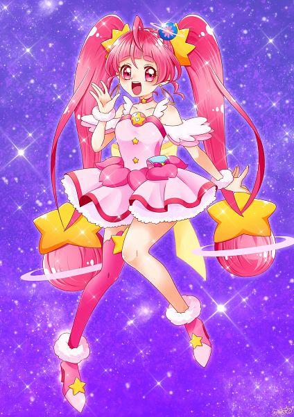 Tags: Anime, Pixiv Id 3018955, Star☆Twinkle Precure, Hoshina Hikaru, Cure Star, Twitter, Fanart From Pixiv, Pixiv, Fanart