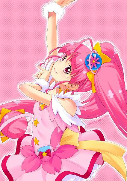 Tags: Anime, Kazuma Muramasa, Star☆Twinkle Precure, Cure Star, Hoshina Hikaru, Pixiv, Fanart, Fanart From Pixiv