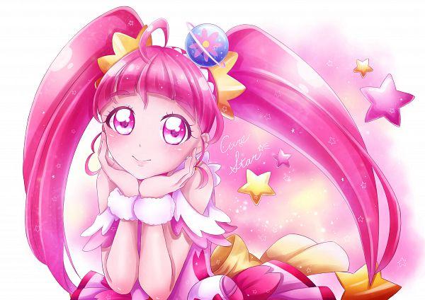 Tags: Anime, Pixiv Id 36799190, Star☆Twinkle Precure, Cure Star, Hoshina Hikaru, Fanart From Pixiv, Pixiv, Fanart