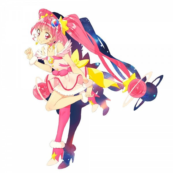 Tags: Anime, Hebereke Zoo, Star☆Twinkle Precure, Cure Star, Hoshina Hikaru, Twitter, Fanart