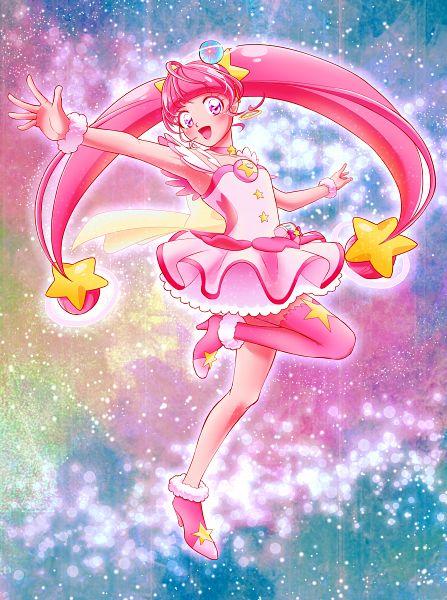 Tags: Anime, Pixiv Id 14110332, Star☆Twinkle Precure, Cure Star, Hoshina Hikaru, Fanart From Pixiv, Pixiv, Fanart