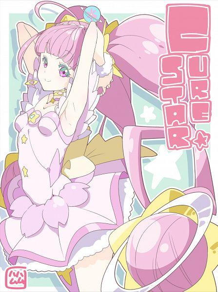 Tags: Anime, Tawashinku, Star☆Twinkle Precure, Hoshina Hikaru, Cure Star, Pixiv, Fanart, Fanart From Pixiv