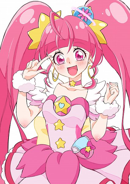 Tags: Anime, Pixiv Id 13493601, Star☆Twinkle Precure, Cure Star, Hoshina Hikaru, Pixiv, Fanart, Twitter, Fanart From Pixiv