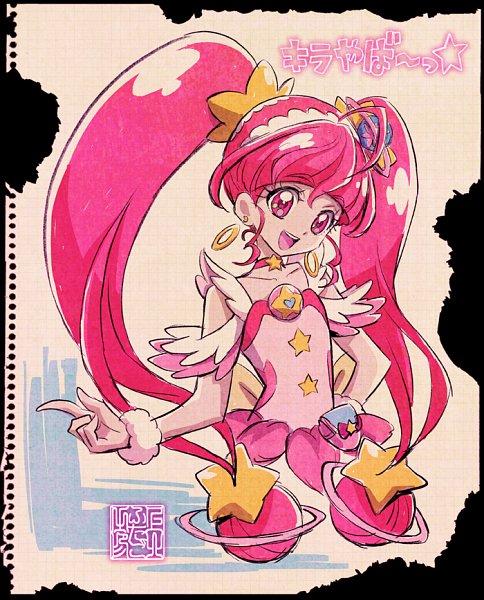 Tags: Anime, Kamikita Futago, Star☆Twinkle Precure, Hoshina Hikaru, Cure Star, Twitter, Official Art