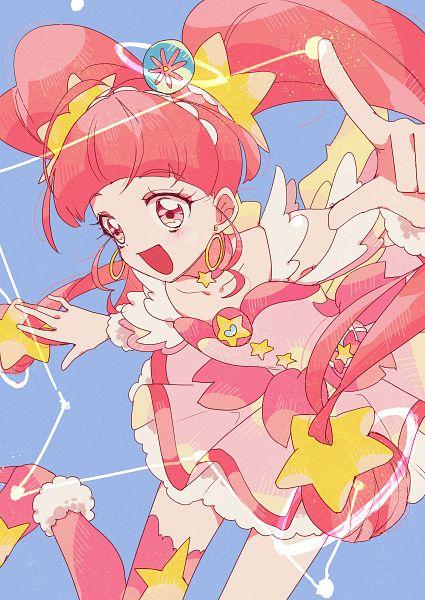Tags: Anime, Pixiv Id 13751879, Star☆Twinkle Precure, Hoshina Hikaru, Cure Star, Fanart From Pixiv, Pixiv, Fanart
