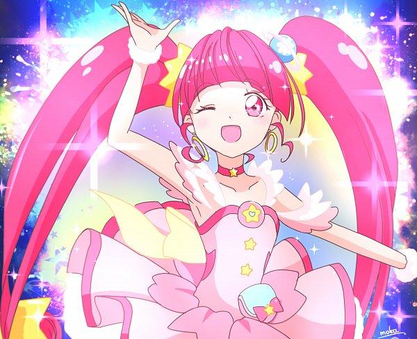 Tags: Anime, Pixiv Id 36881996, Star☆Twinkle Precure, Hoshina Hikaru, Cure Star, Fanart From Pixiv, Pixiv, Fanart