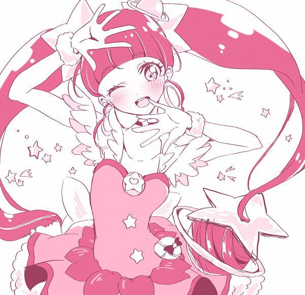 Tags: Anime, Pixiv Id 3011051, Star☆Twinkle Precure, Hoshina Hikaru, Cure Star, Pixiv, Fanart, Fanart From Pixiv