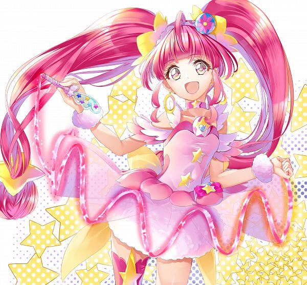 Tags: Anime, Yuutarou (Pixiv822664), Star☆Twinkle Precure, Hoshina Hikaru, Cure Star, Fanart, Fanart From Pixiv, Pixiv