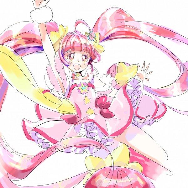 Tags: Anime, Pixiv Id 30459934, Star☆Twinkle Precure, Cure Star, Hoshina Hikaru, Fanart, Twitter, Fanart From Pixiv, Pixiv