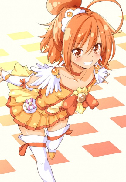 Tags: Anime, Tokunou Shoutarou, Smile Precure!, Hino Akane, Cure Sunny, Fanart, Fanart From Pixiv, Pixiv