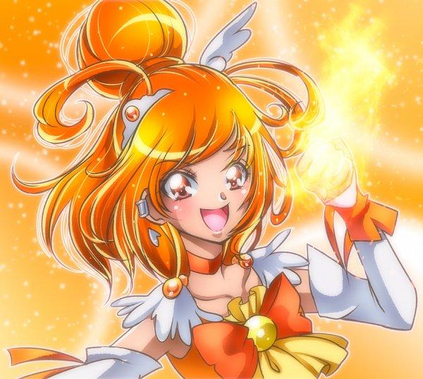 Tags: Anime, Shunciwi, Smile Precure!, Hino Akane, Cure Sunny, Twitter, Pixiv, Fanart, Fanart From Pixiv