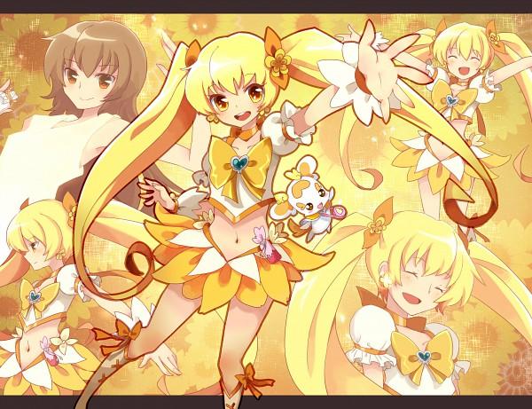 Tags: Anime, Uncle Ri Kodama, Heartcatch Precure!, Potpourri, Myoudouin Itsuki, Cure Sunshine, Pixiv, Fanart