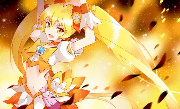Tags: Anime, Nardack, Heartcatch Precure!, Myoudouin Itsuki, Cure Sunshine, Wallpaper, Fanart, Pixiv