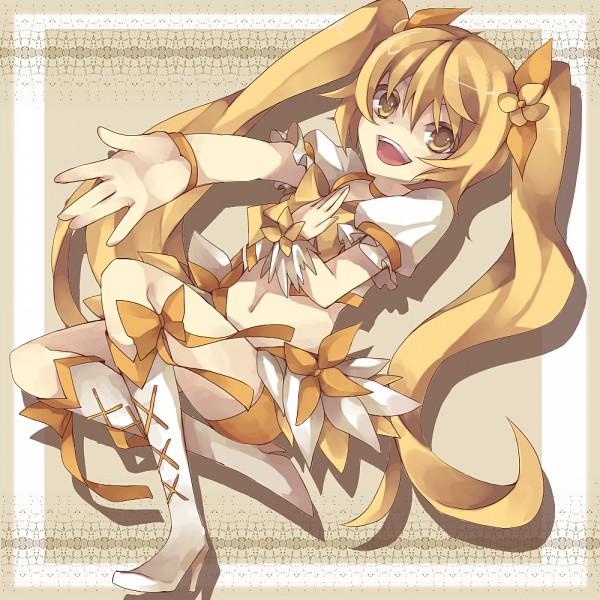 Tags: Anime, Pixiv Id 590191, Heartcatch Precure!, Myoudouin Itsuki, Cure Sunshine, Pixiv, Fanart