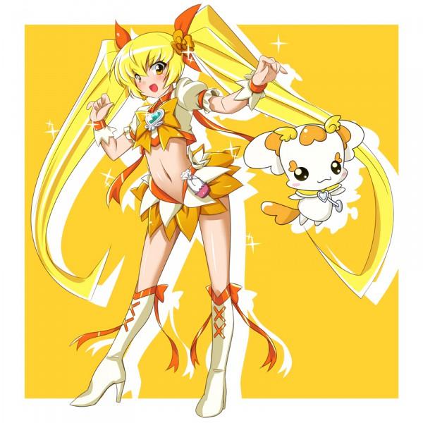 Tags: Anime, MtU, Heartcatch Precure!, Potpourri, Myoudouin Itsuki, Cure Sunshine, Fanart, Pixiv