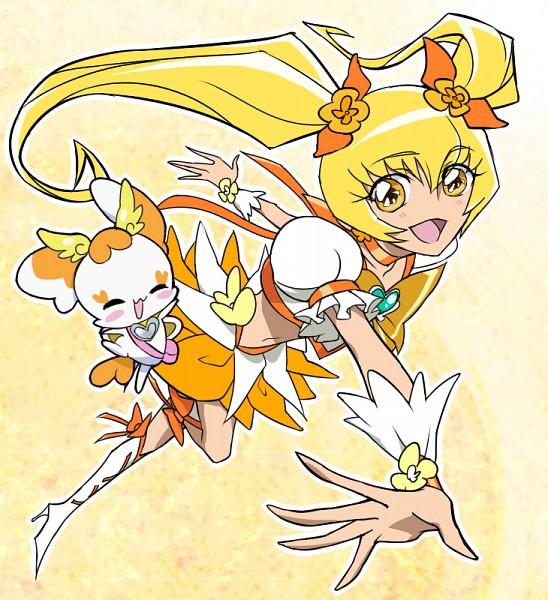 Tags: Anime, Pixiv Id 438565, Heartcatch Precure!, Cure Sunshine, Potpourri, Myoudouin Itsuki, Pixiv, Fanart